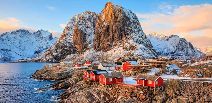 Lofoten & Vesterålen: Nordlichter statt Feuerwerk