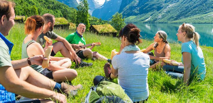 Fjordnorwegen - auf historischen Wegen