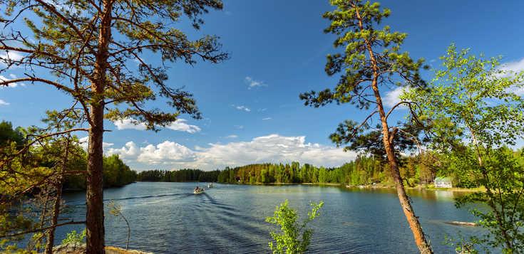 Aktiv & entspannt im Saimaa-Seengebiet