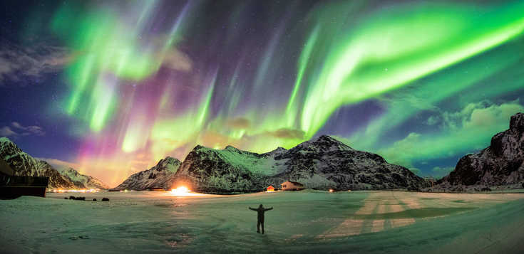Lofoten & Vesterålen: Nordlichter & Wale