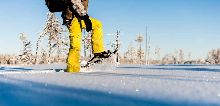Auf großem Fuß durch Schwedisch Lappland