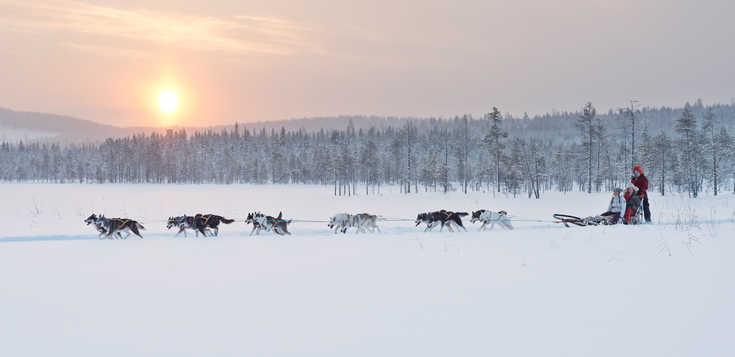 Schweden: Wintermärchen am Polarkreis