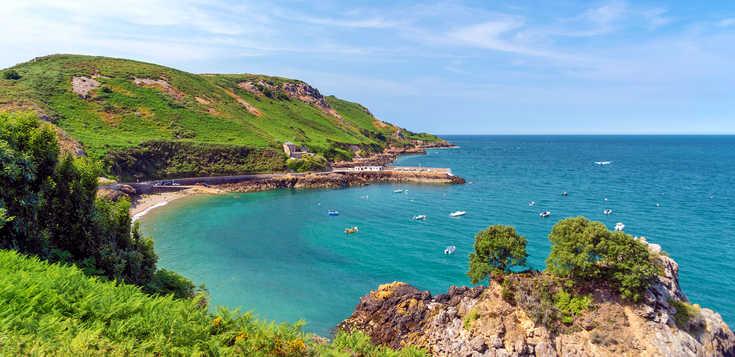 Jersey und Guernsey - die Garteninseln