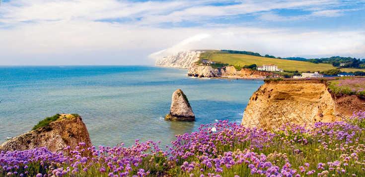 Von der Sonne verwöhnt - die Isle of Wight