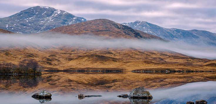 Silvester in den schottischen Highlands
