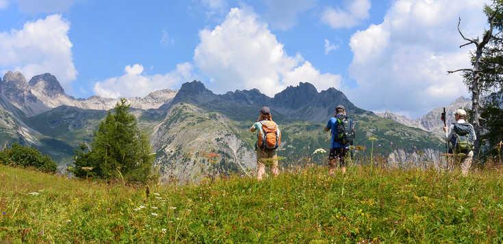 Von Oberstdorf nach Meran über die Alpen