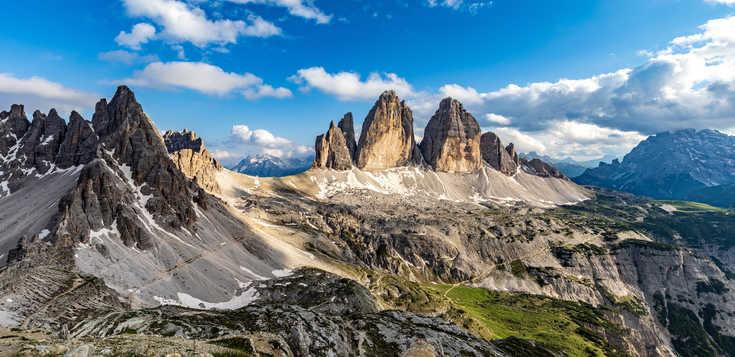 Österreich: Im Angesicht der Dolomiten