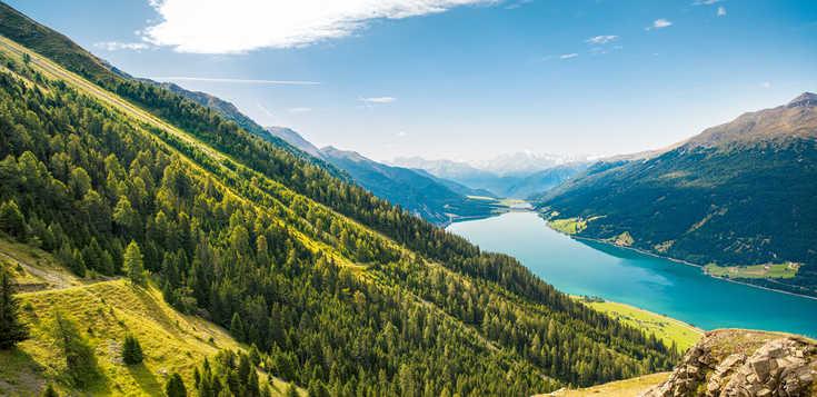 Dreiländereck Reschenpass: Alpenwandern für Einsteiger