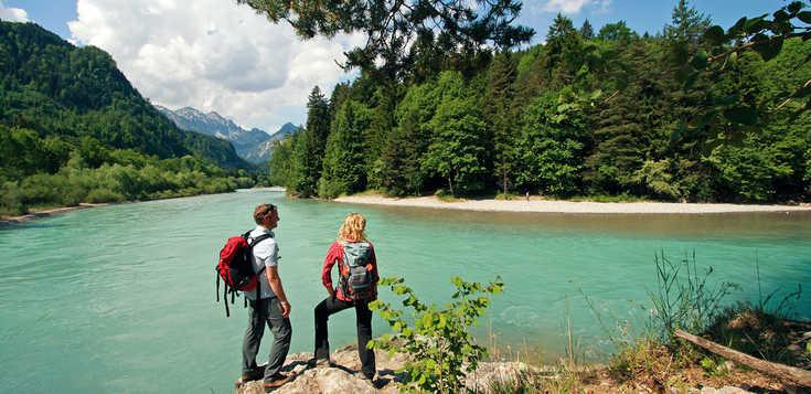 Der Lechweg - vom Hochgebirge bis in die Voralpen