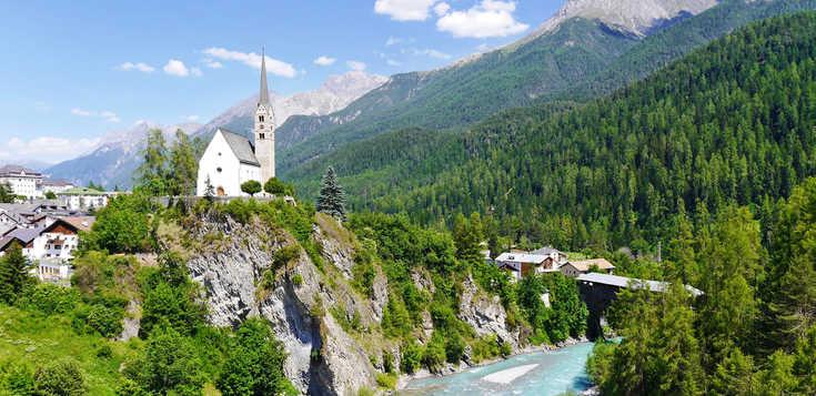 Ein wahrer Alpenrausch - der Inn-Radweg