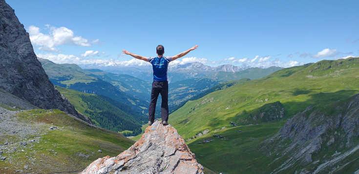 Rund um Klosters und Davos - die schönsten Höhenwege