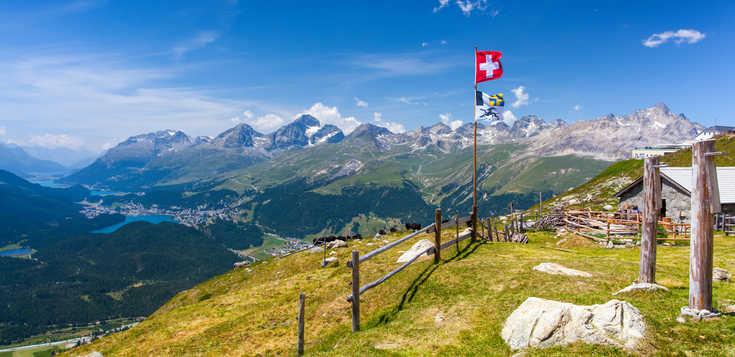 St. Moritz: willkommen im Wanderhimmel!