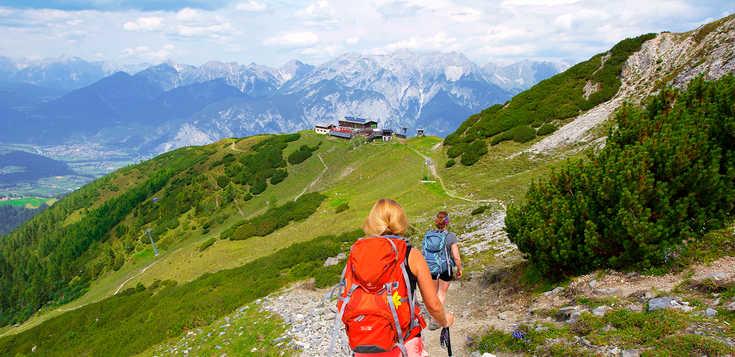 Eine Alpenüberquerung für Einsteiger - von Mittenwald nach Sterzing