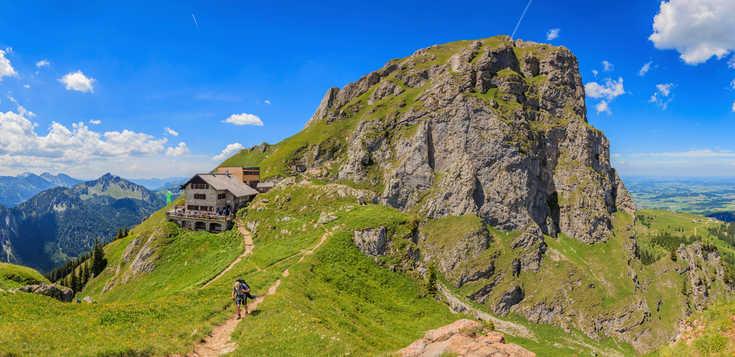 Von Füssen nach Meran: Mit Panoramablick über die Alpen