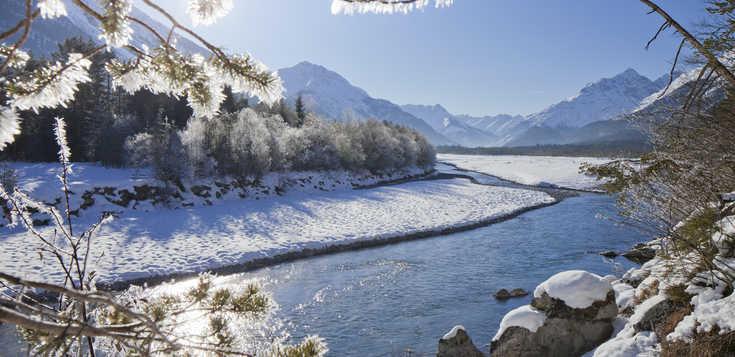 Winterwandern im Lechtal