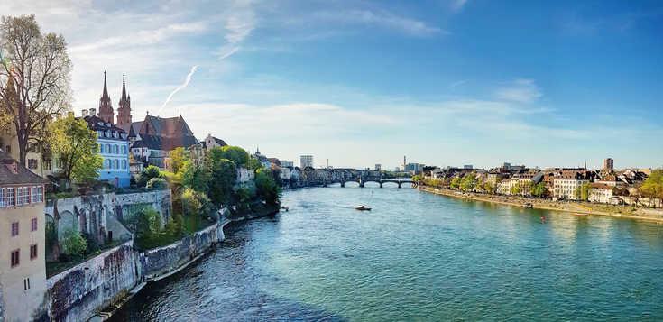 Basel - Moderne trifft Mittelalter