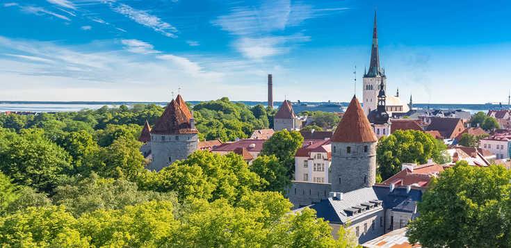 Große Baltikum-Rundreise - Estland, Lettland, Litauen