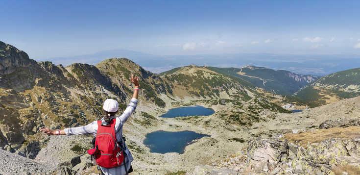 Flexibel wandern auf dem Dach des Balkans