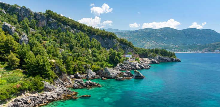 Auf Küstenpfaden entlang der Albanischen Riviera