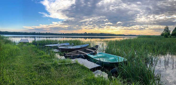 Mit Seensucht von Masuren zur Danziger Bucht
