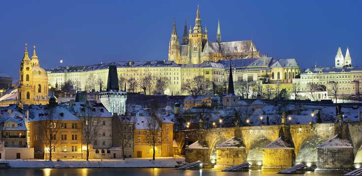 Prag: Silvester in der Goldenen Stadt