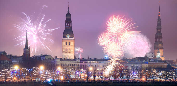 Riga - die Jugendstilhauptstadt Europas