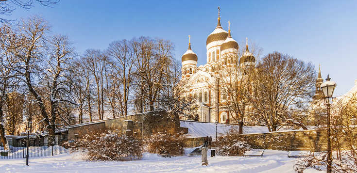 Tallinn und die Ostseeinsel Saaremaa - Silvester auf Estnisch