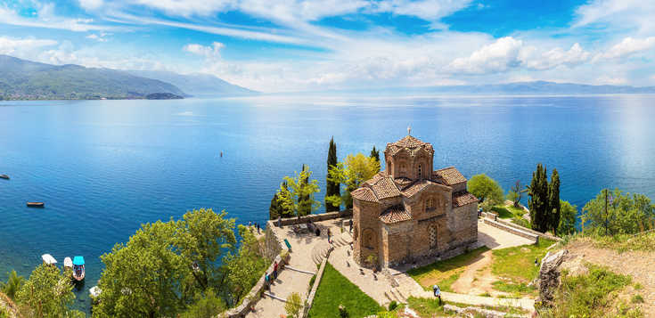 Albanien/Nordmazedonien - per E-bike durch den Balkan