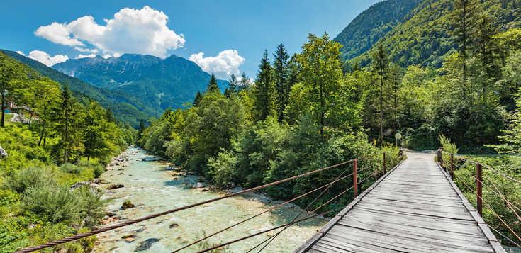 Slowenien: Die schönsten Etappen des Alpe-Adria-Trails
