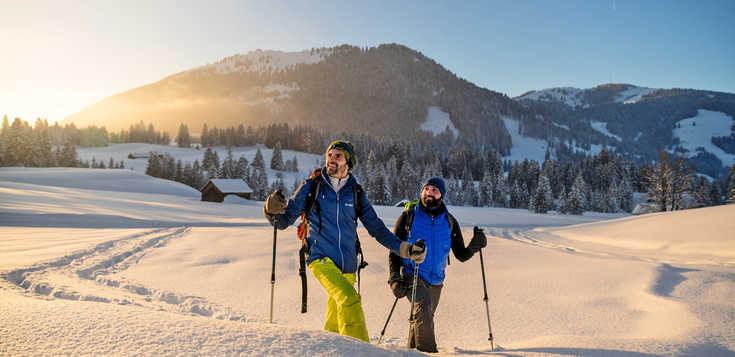 Erzgebirge: Schneeschuh, Schloss und Spitzentouren