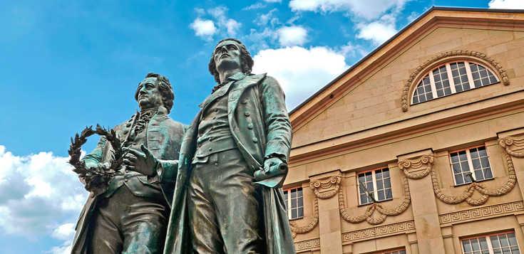 Kulturstadt Weimar mit Goethe & Schiller