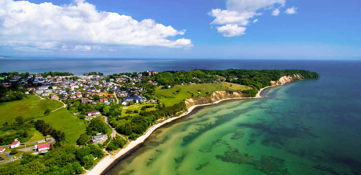Deutschland: Rügen - blaues Meer & weiße Felsen