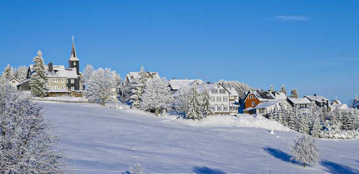 Winterlicher Rennsteig - gemeinsam ins neue Jahr