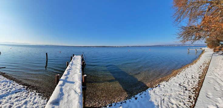 Starnberger See - im Angesicht alter Villen und Schlösser