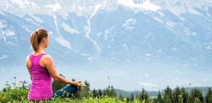 Wandern und Yoga in den bayerischen Alpen