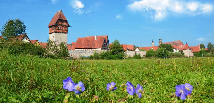 Die romantischen Drei - Deutschlands schöne Mittelalterstädte