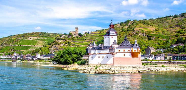 Der Rheingau - wandern, wo der Wein wächst