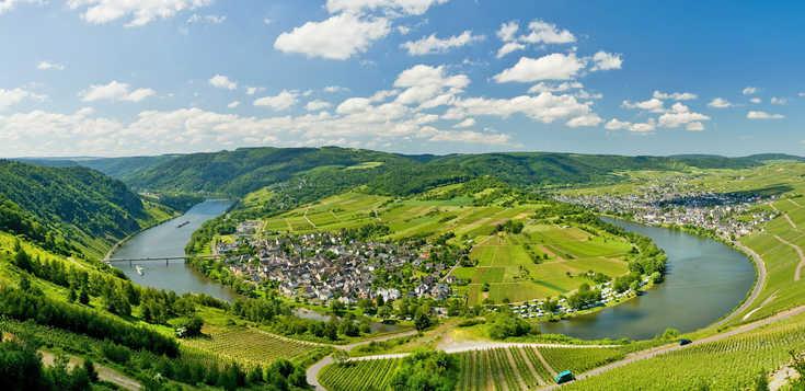 Der Mosel-Radweg von Trier nach Koblenz