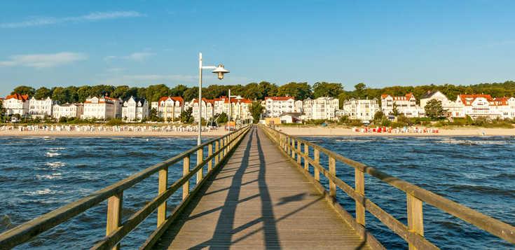 Usedom - wandern, wo Deutschland am sonnigsten ist