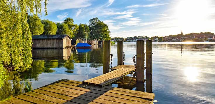 Seen und Wälder im Müritz-Nationalpark