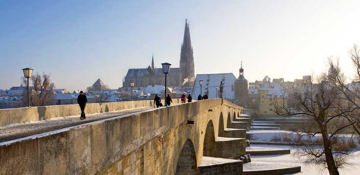 Regensburg - Silvester zwischen Dom und Donau