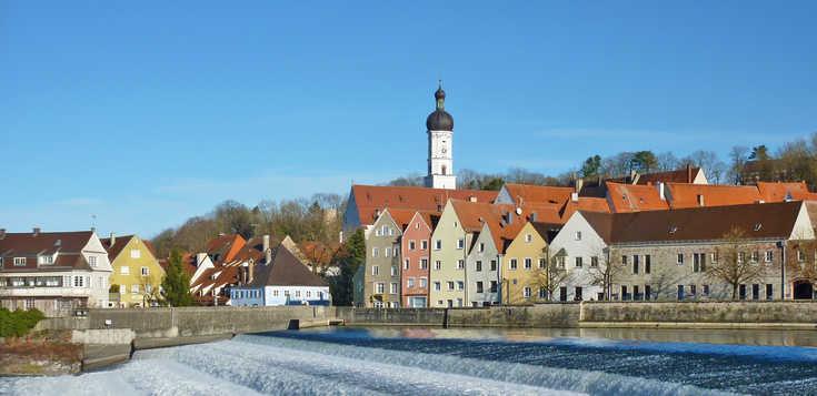 Landsberg: Mittelalter pur, dazu viel Natur