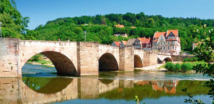 Werra-Burgen-Steig: von Burg zu Burg und entlang der Werra
