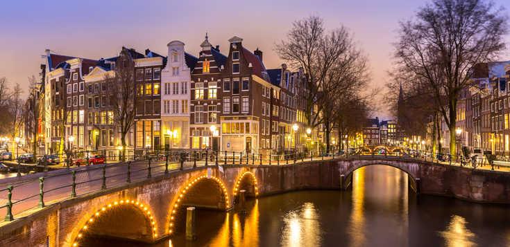 Jahreswechsel in Holland - zwischen Dünen und Amsterdam
