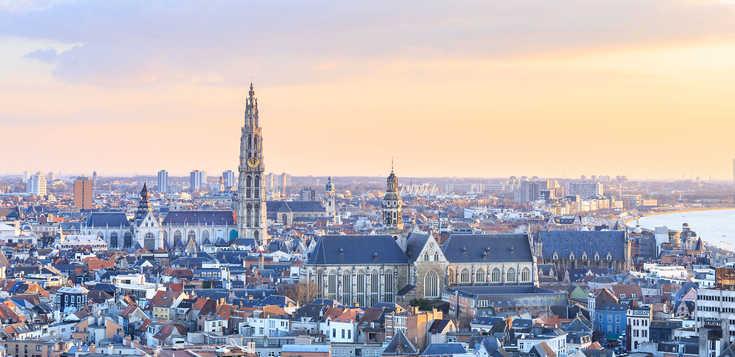 Jahreswechsel in Antwerpen