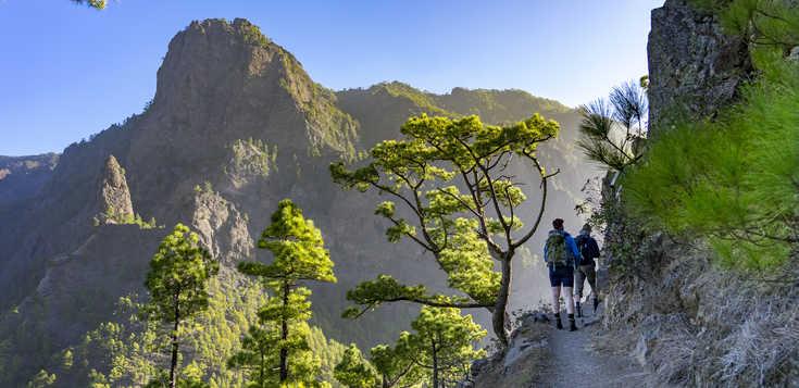 Gipfel und Schluchten - die spektakulärsten Routen La Palmas