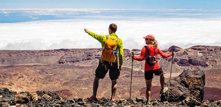 Teide-Challenge: vom Strand bis zum höchsten Gipfel Spaniens