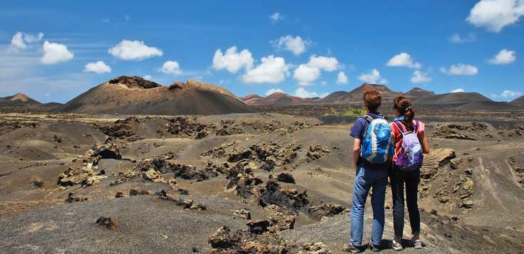 Stiefel an, Rucksack auf - Lanzarote gemeinsam erwandern