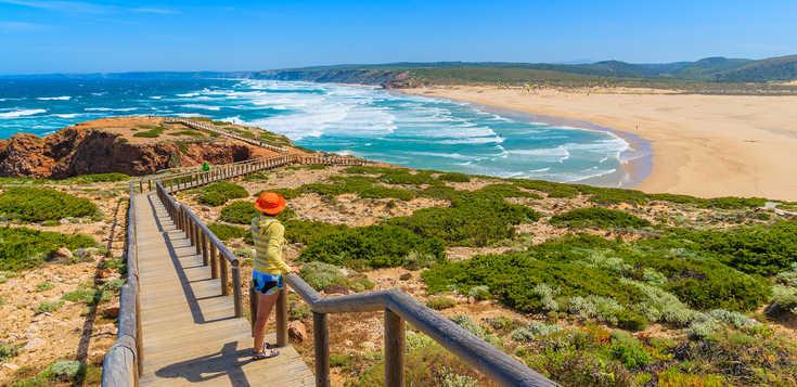 Die Ost- und Westküste der Algarve kombiniert!