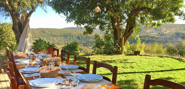 Wandern und Kulinarik im Barrocal